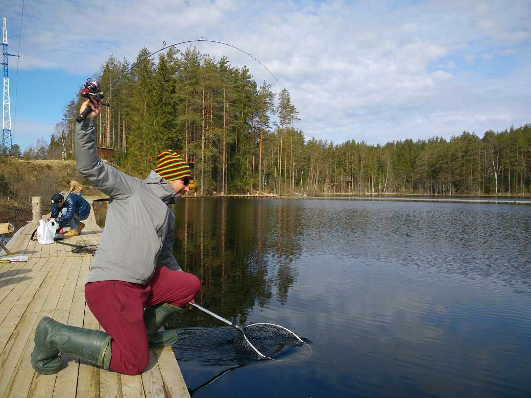 платная рыбалка в каратыгина