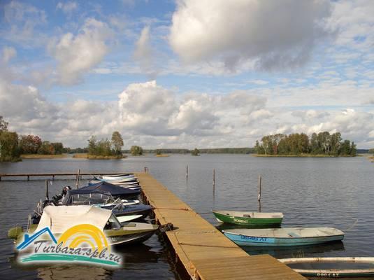 аренда лодки с мотором приозерск